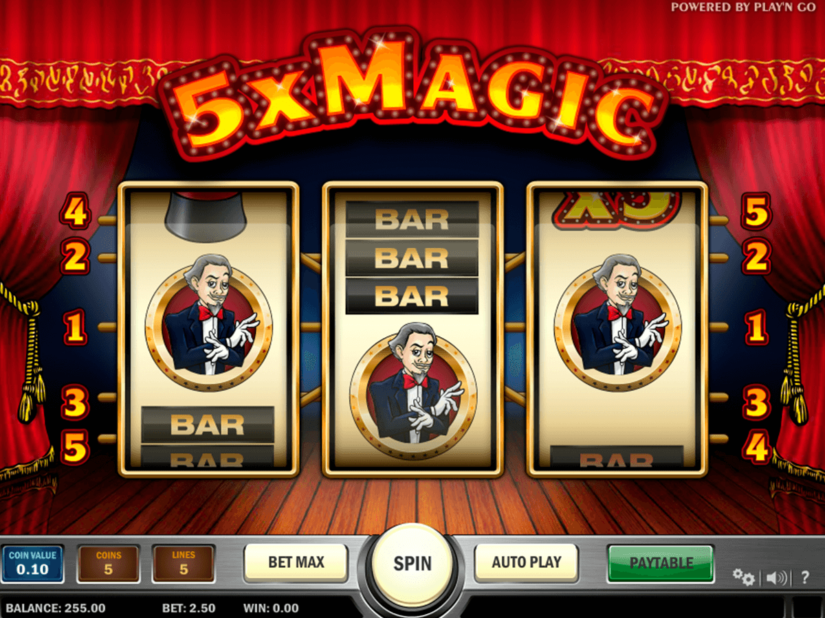 5x magic playn go casino slot spel