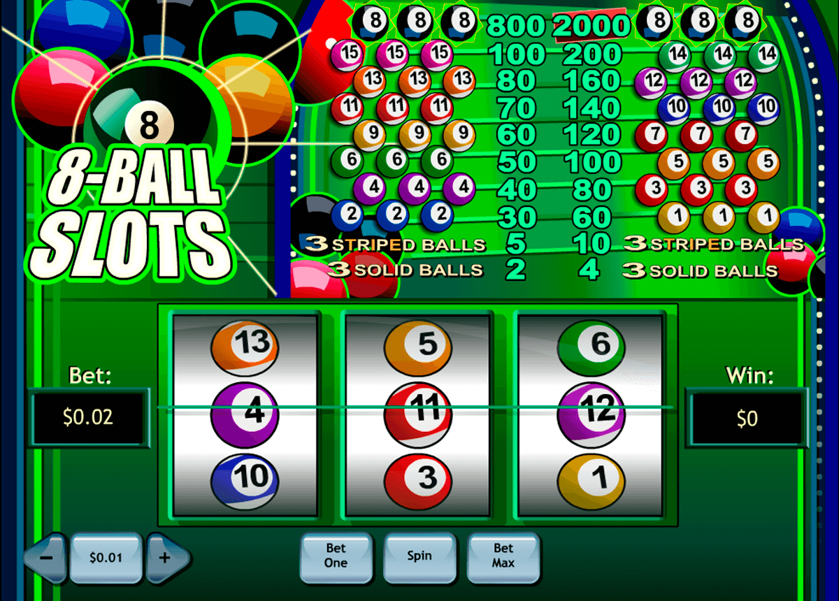 8ball slotss playtech casino slot spel