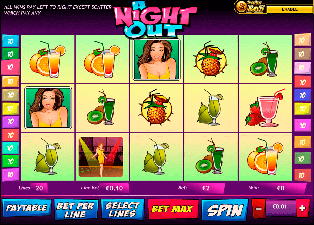 a night out playtech casino slot spel
