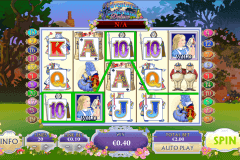 adventures in wonderland playtech casino slot spel