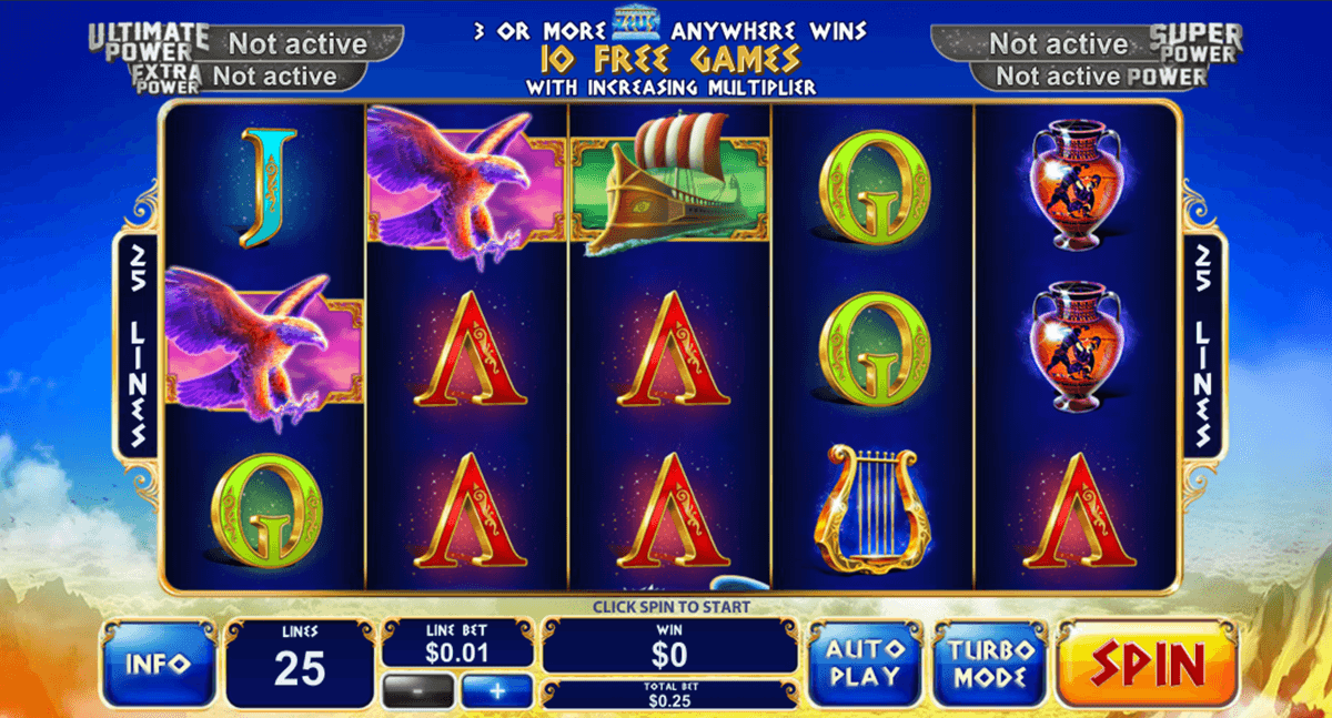 age of the gods king of olympus playtech casino slot spel