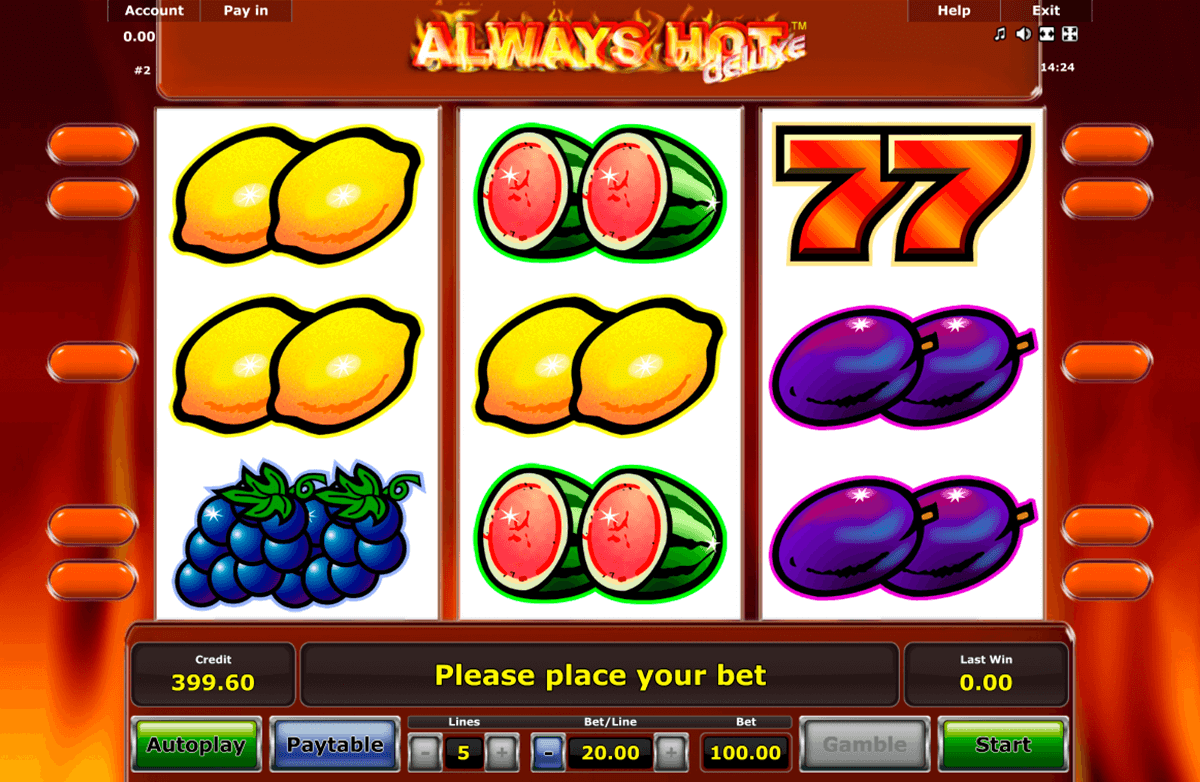 always hot novomatic casino slot spel
