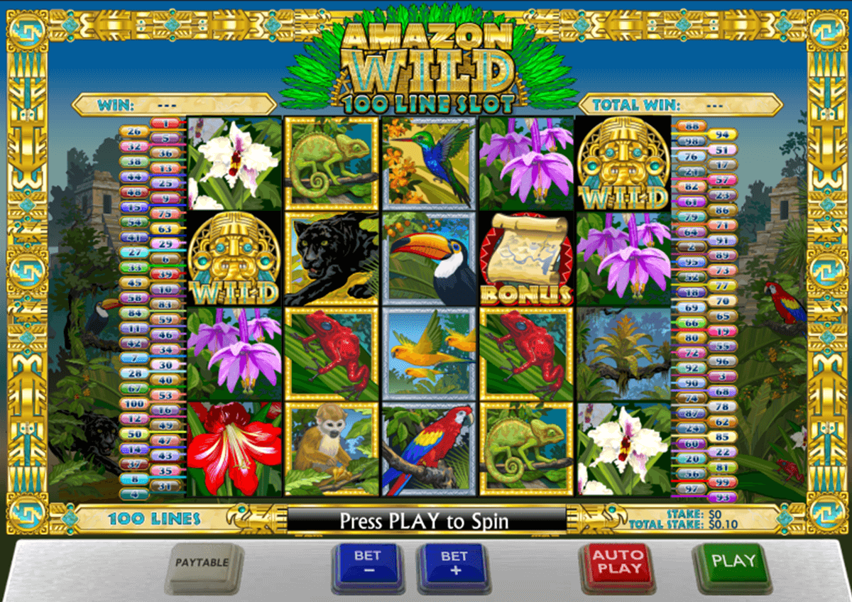 amazon wild playtech casino slot spel