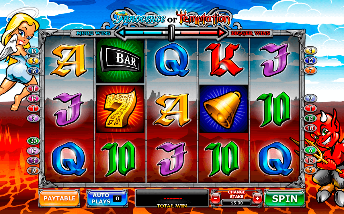 angel or devil playtech casino slot spel