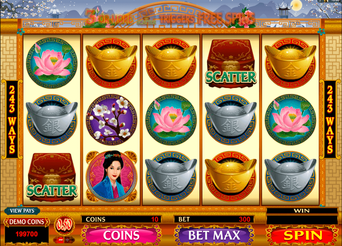 asian beauty microgaming casino slot spel