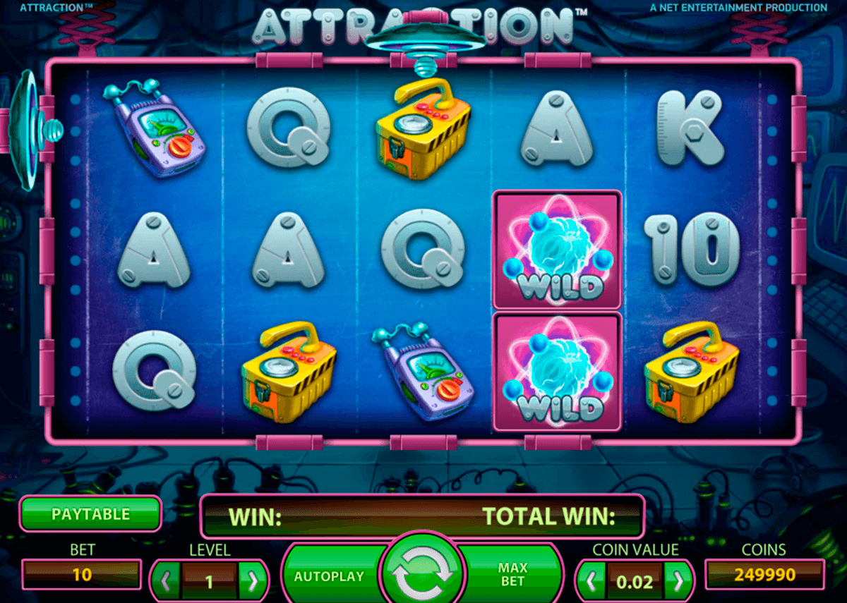 attraction netent casino slot spel