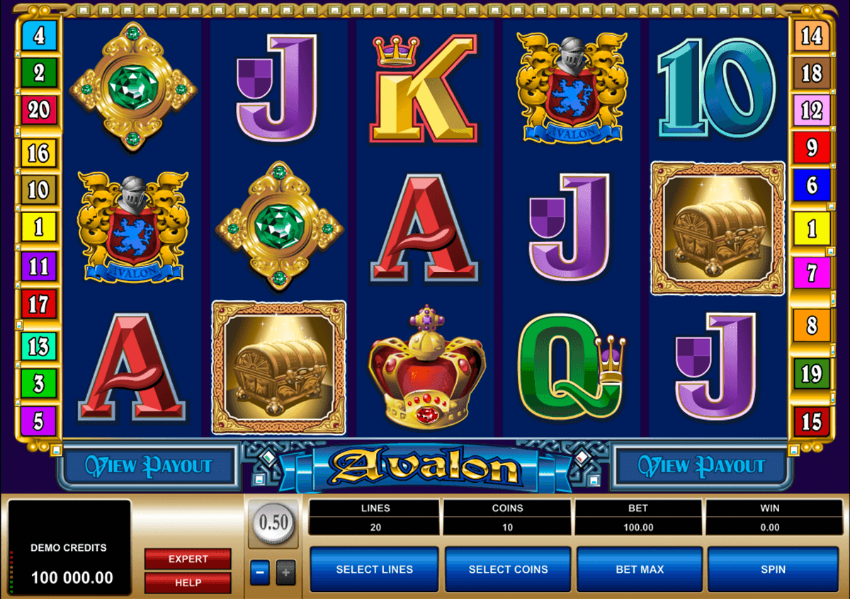 avalon microgaming casino slot spel