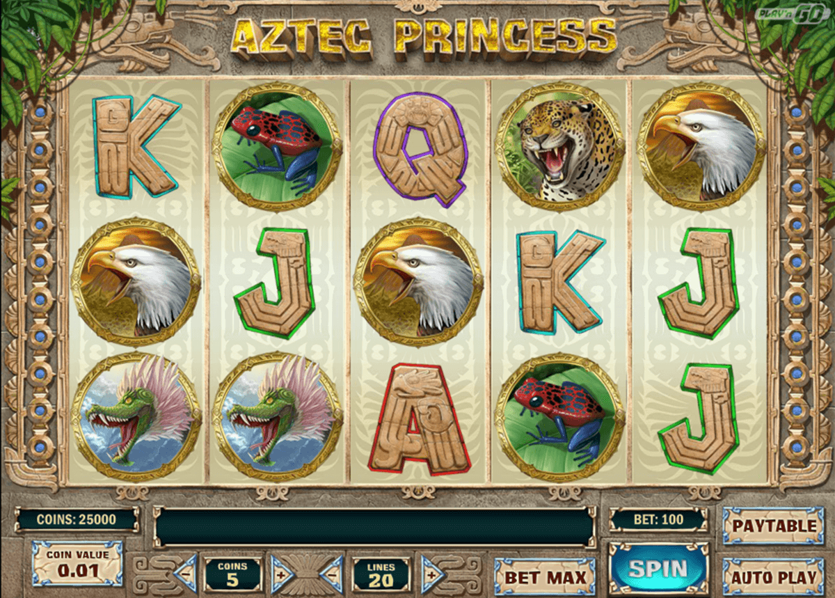 aztec princess playn go casino slot spel