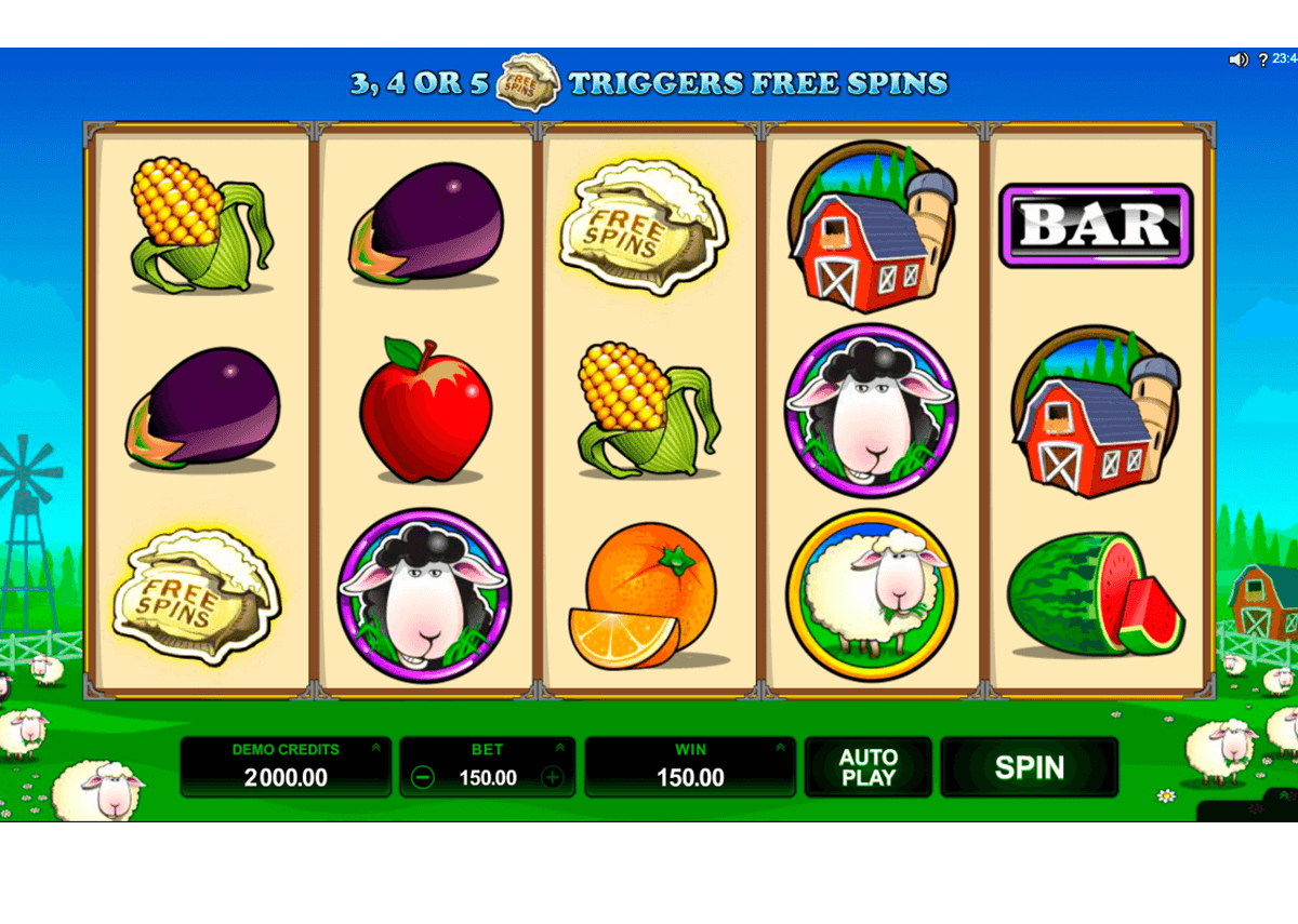 bar bar black sheep 5 reel microgaming casino slot spel