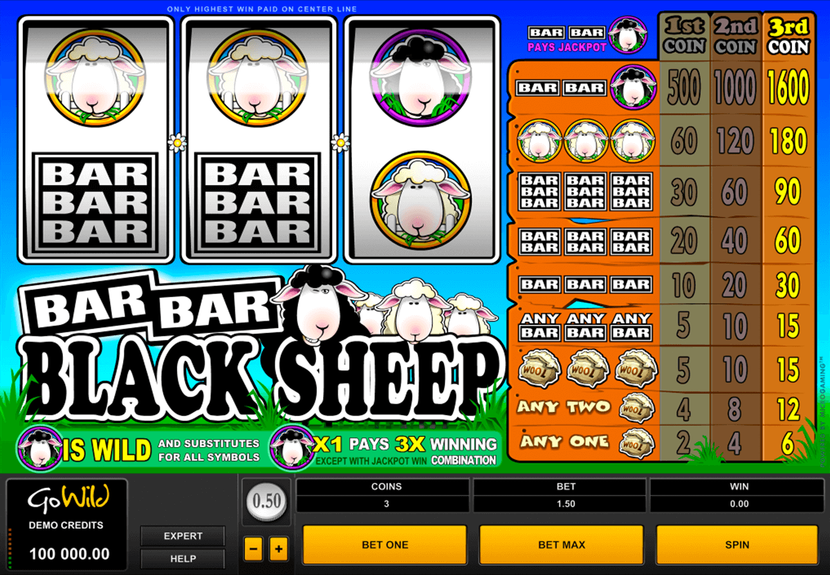 barbarblack sheep microgaming casino slot spel