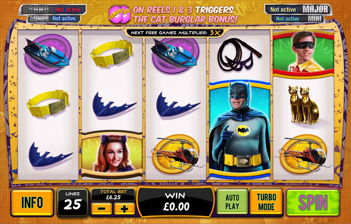 batman catwoman cash playtech casino slot spel