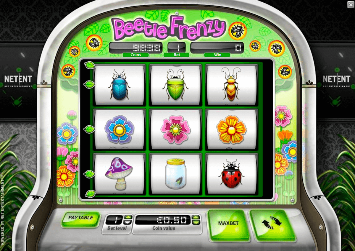 beetle frenzy netent casino slot spel