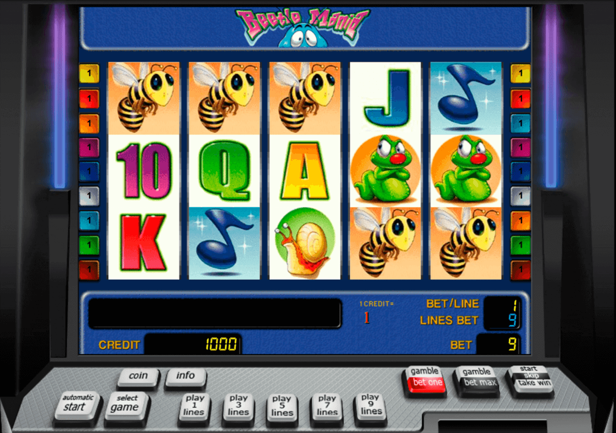 beetle mania novomatic casino slot spel