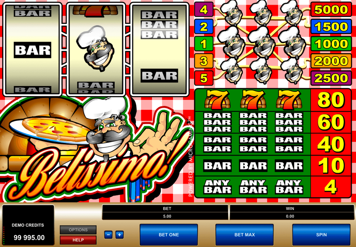 belissimo microgaming casino slot spel