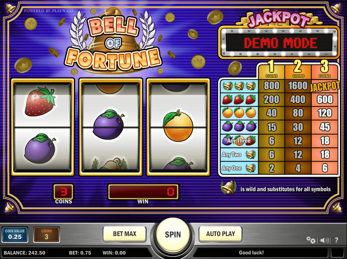 bell of fortune playn go casino slot spel