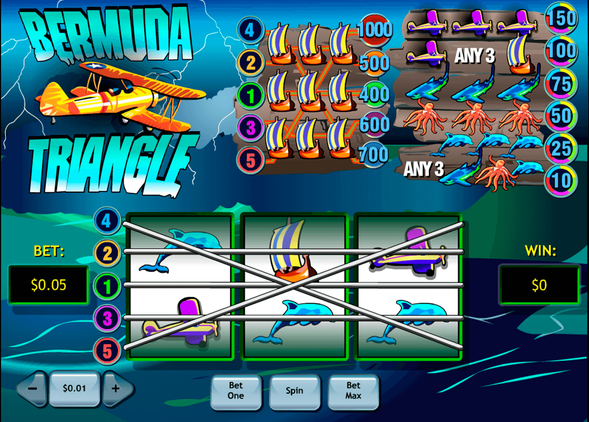 bermuda triangle playtech casino slot spel