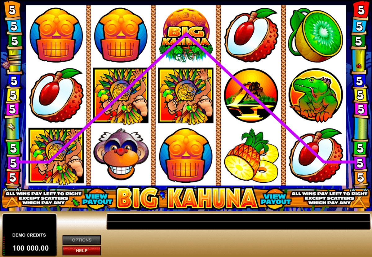 big kahuna microgaming casino slot spel