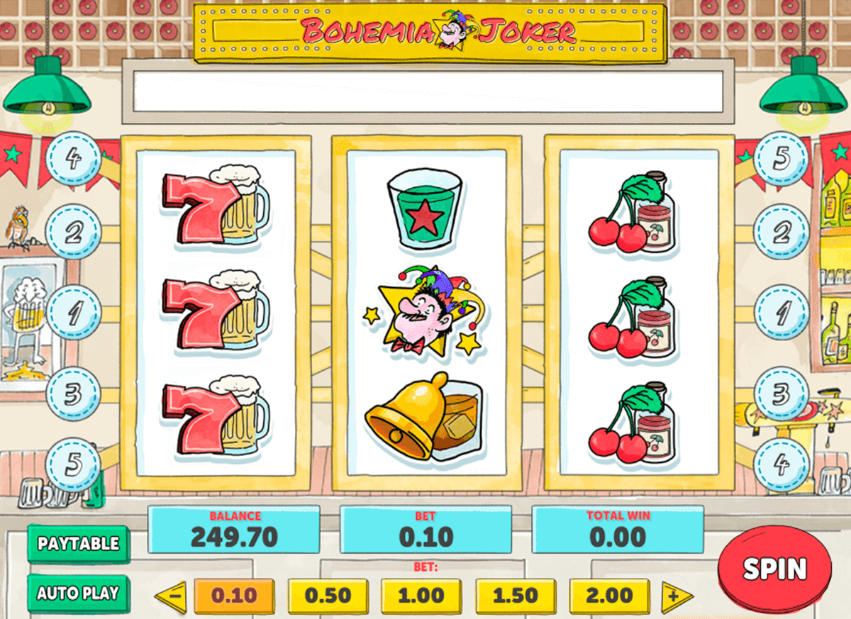 bohemia joker playn go casino slot spel