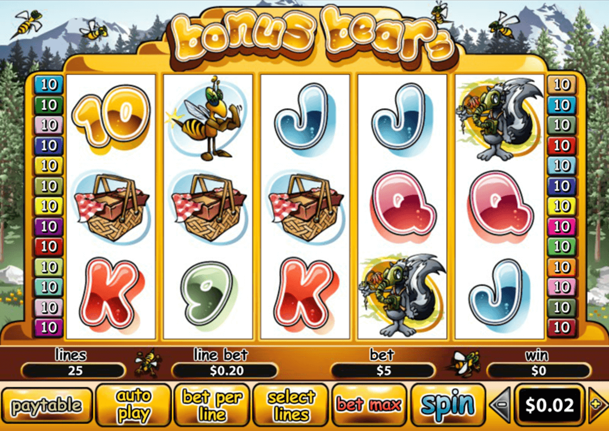 bonus bears playtech casino slot spel