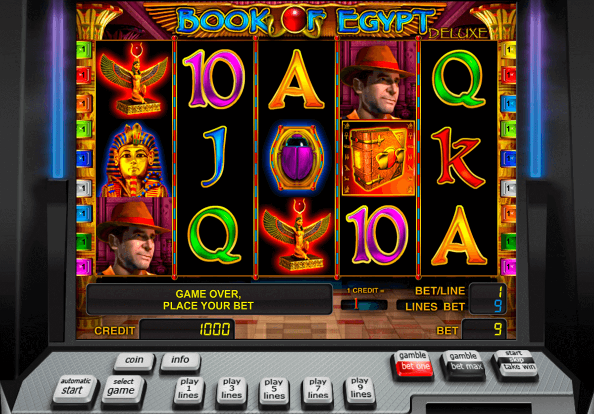 book of egypt deluxe novomatic casino slot spel