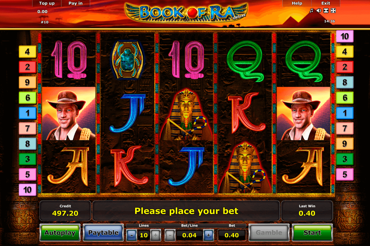 book of ra deluxe novomatic casino slot spel
