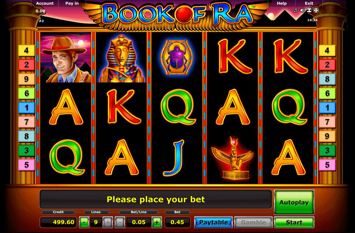 book of ra novomatic casino slot spel