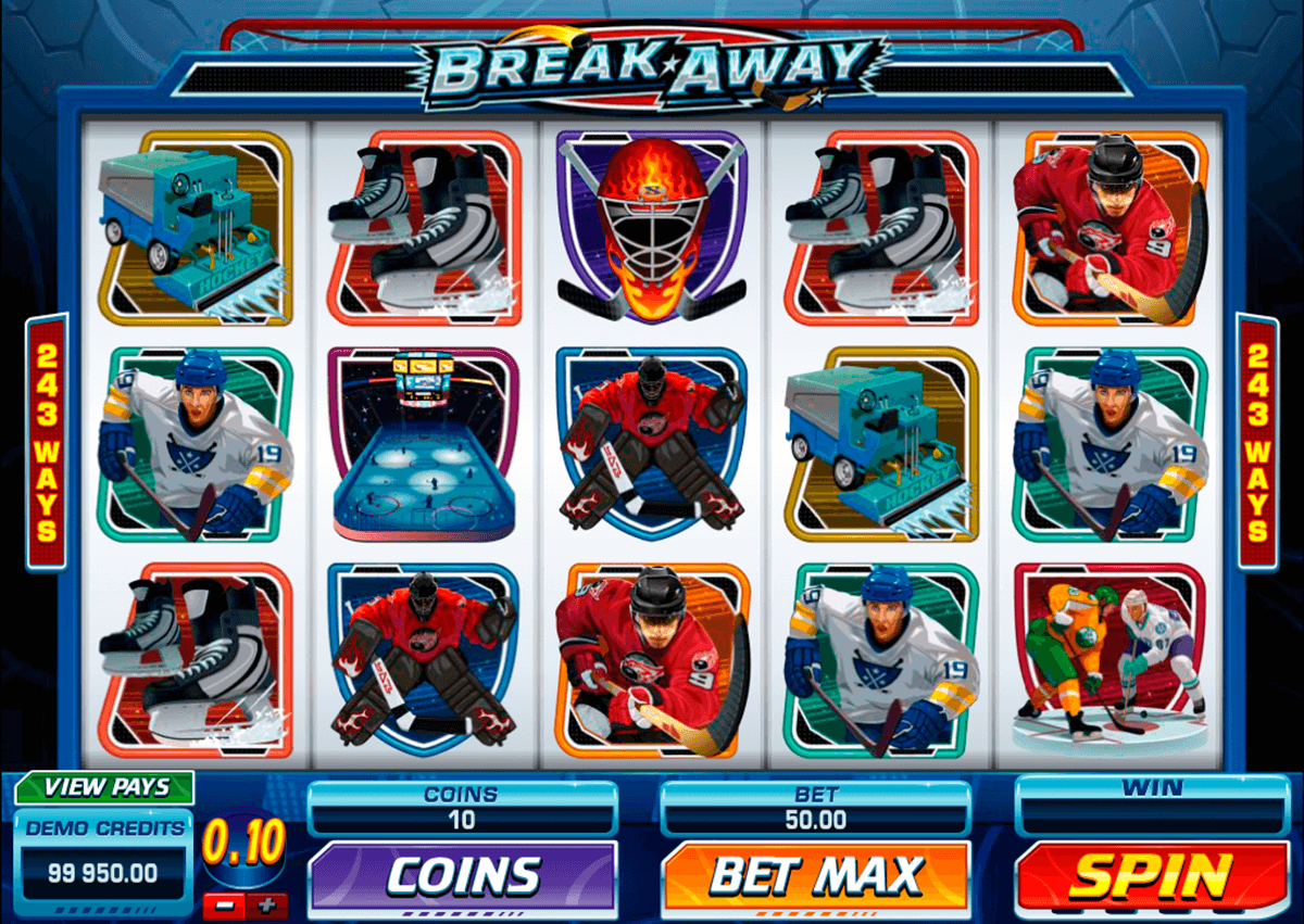 break away microgaming casino slot spel
