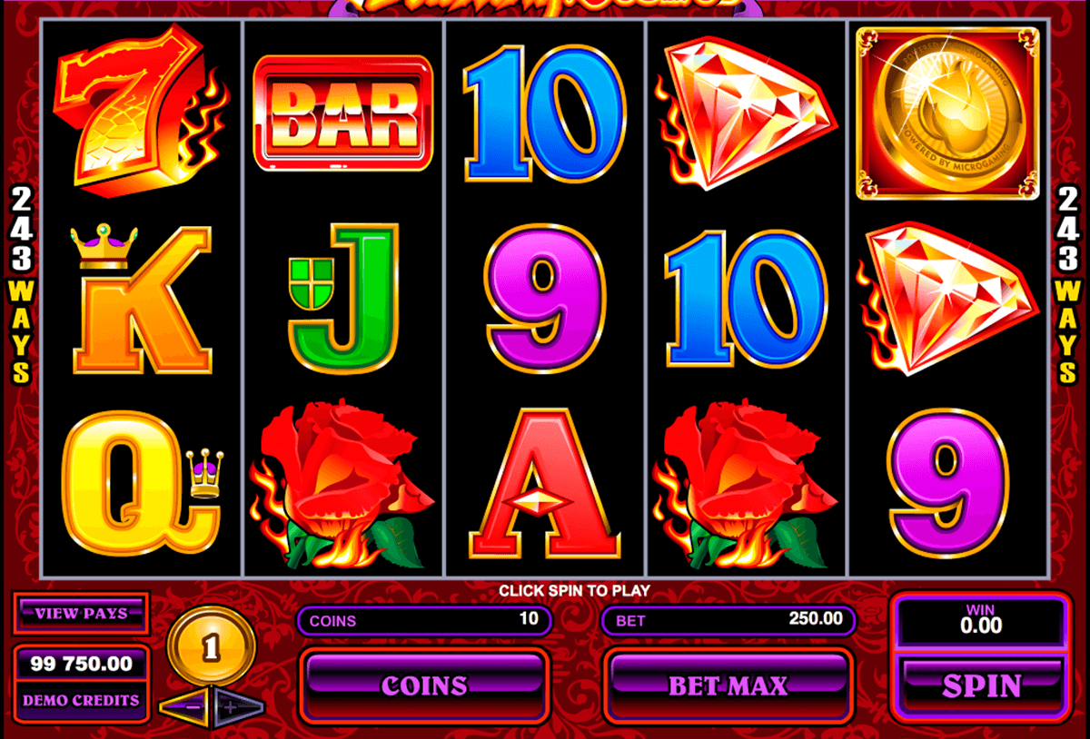 burning desire microgaming casino slot spel