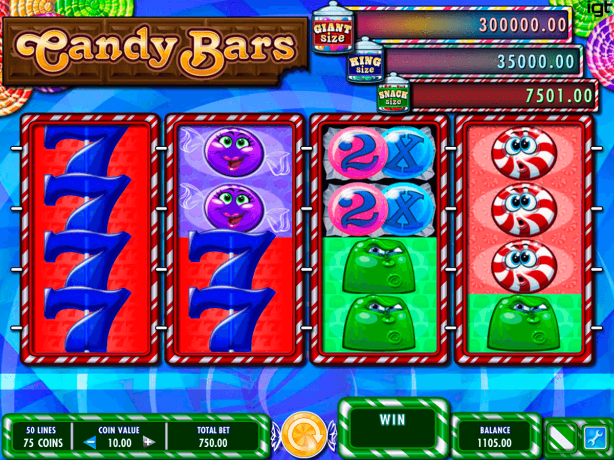candy bars igt casino slot spel