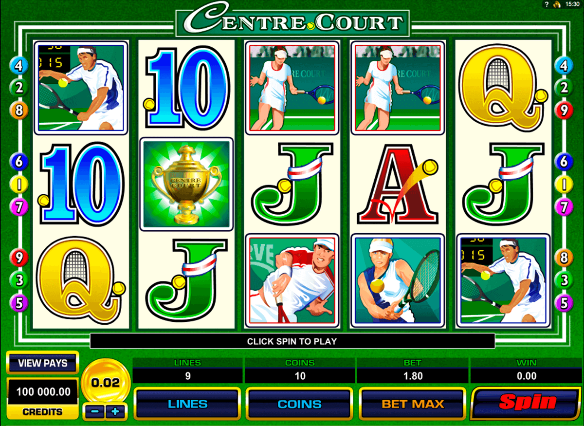centre court microgaming casino slot spel