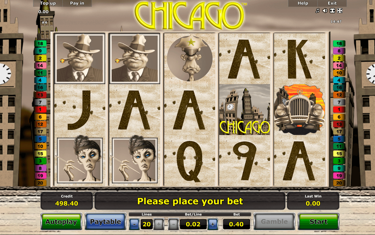 chicago novomatic casino slot spel