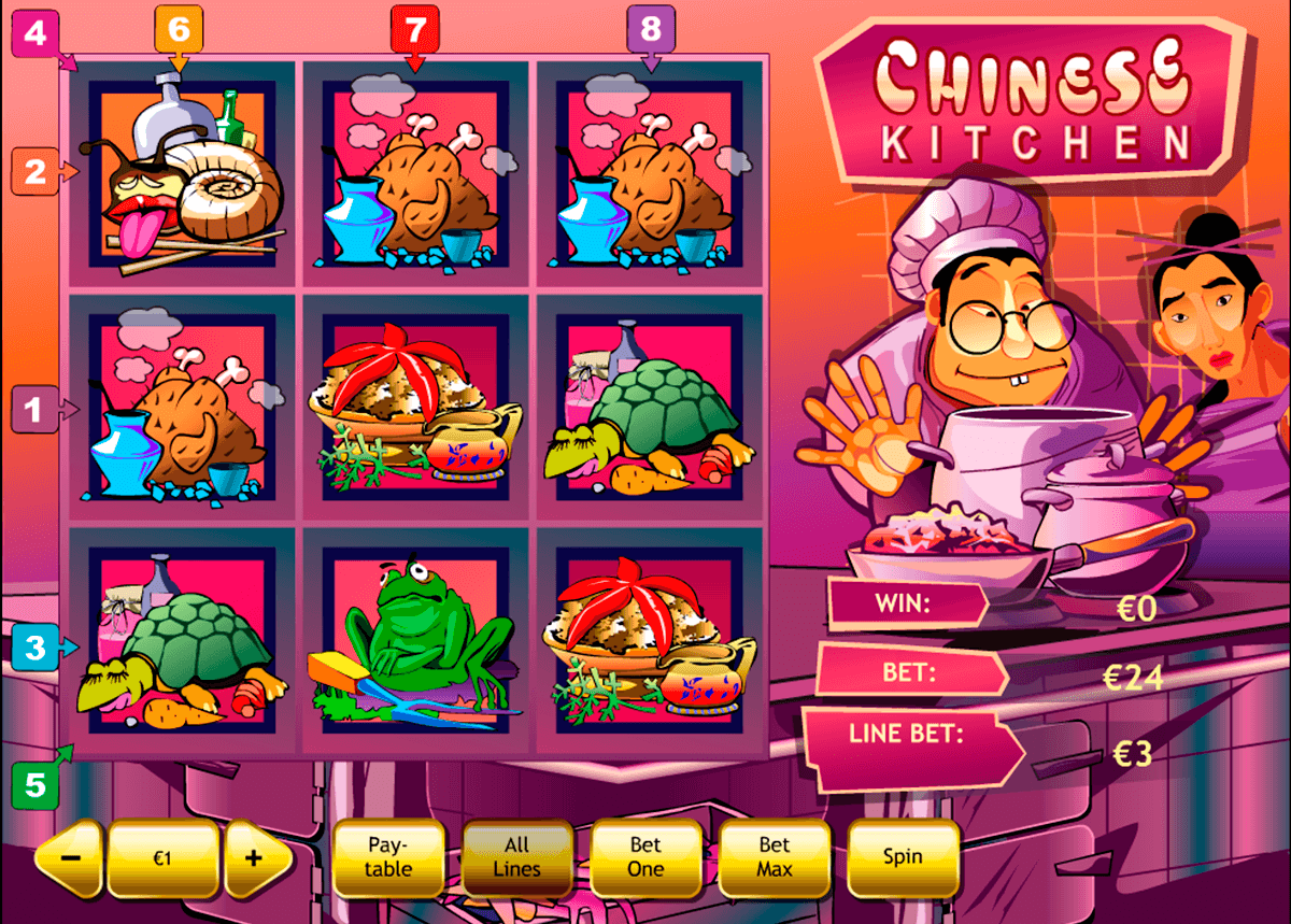 chinese kitchen playtech casino slot spel