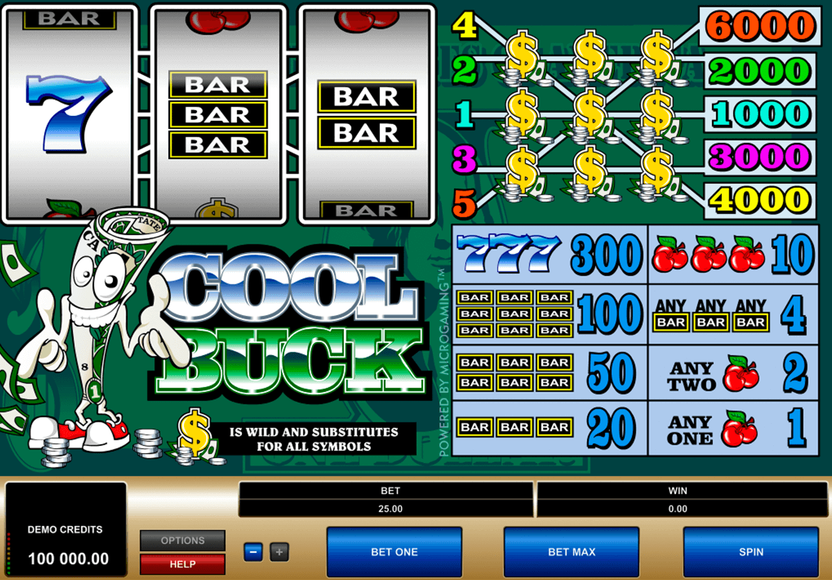 cool buck microgaming casino slot spel