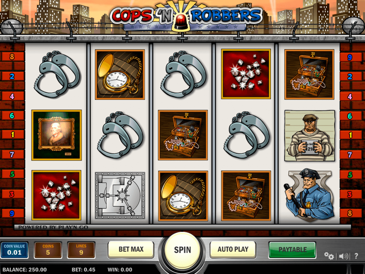 cops n robbers playn go casino slot spel