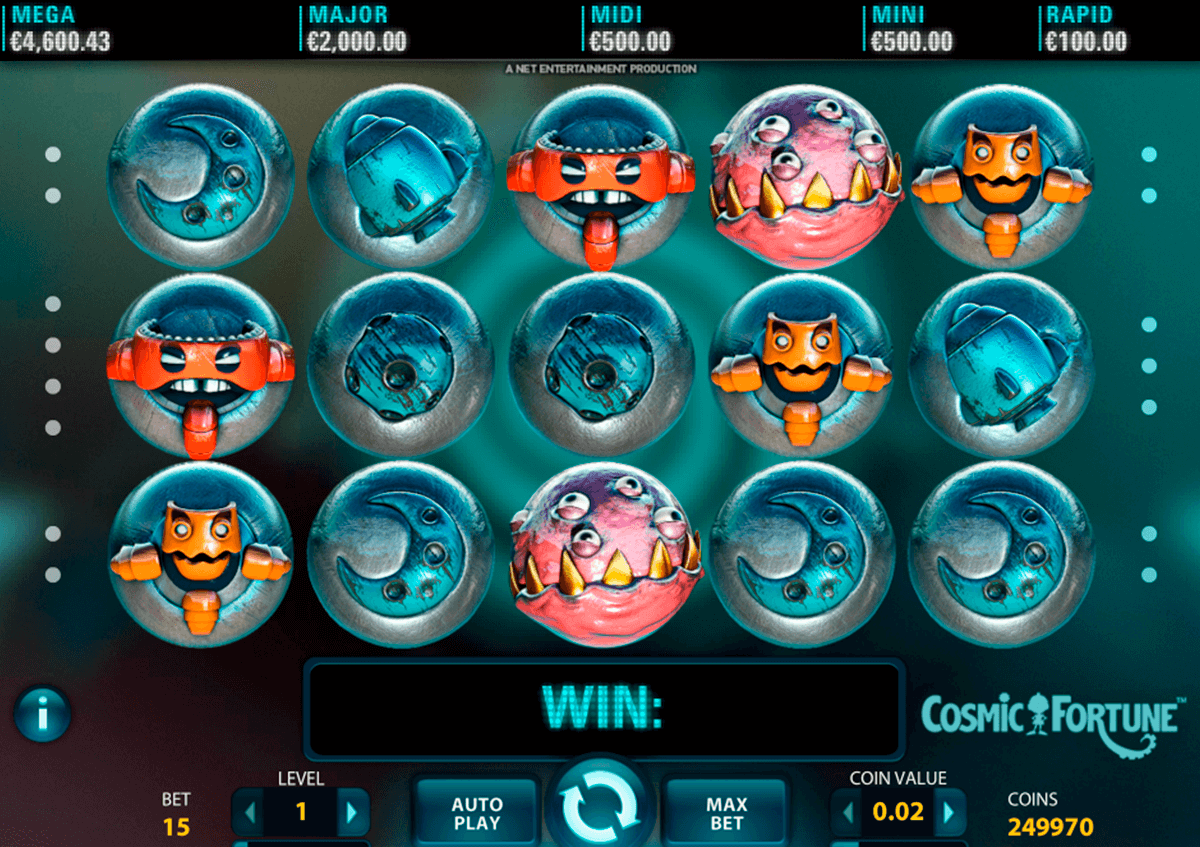 cosmic fortune netent casino slot spel