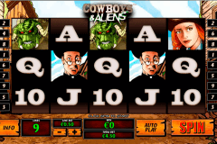 cowboys and aliens playtech casino slot spel