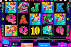 crazy80s microgaming casino slot spel