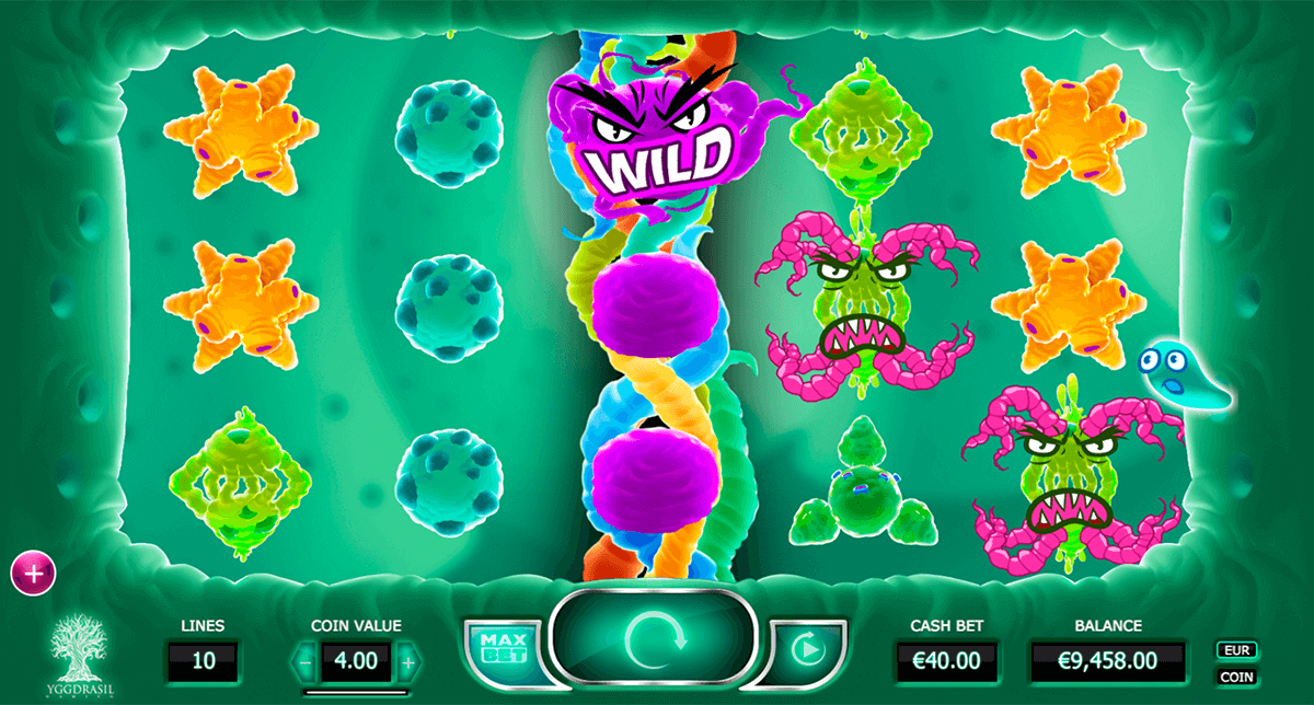 cyrus the virus yggdrasil casino slot spel