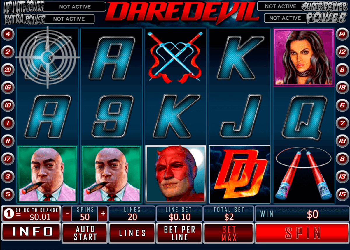 daredevil playtech casino slot spel