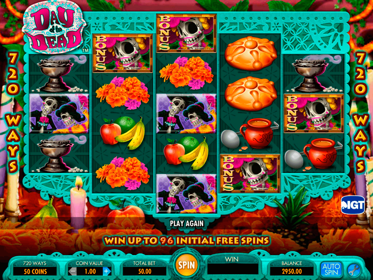 day of the dead igt casino slot spel