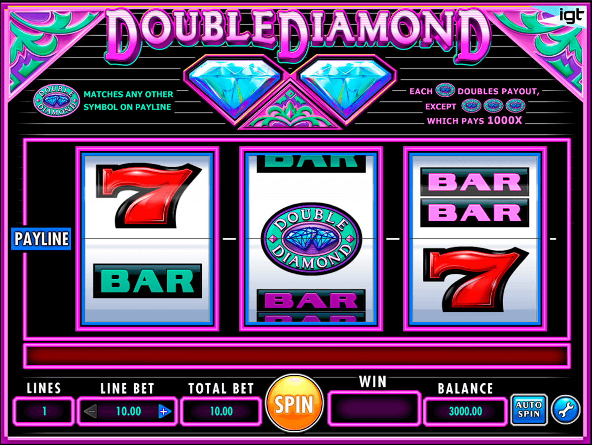 double diamond igt casino slot spel