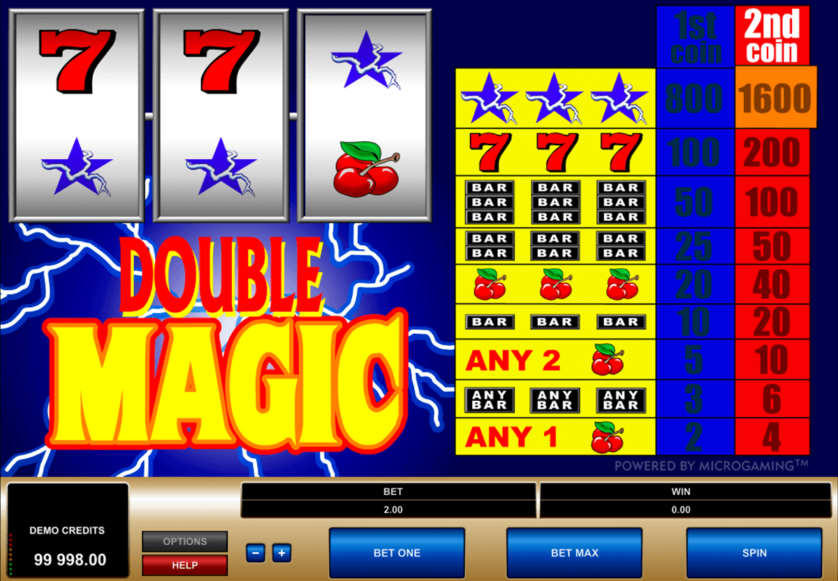 double magic microgaming casino slot spel