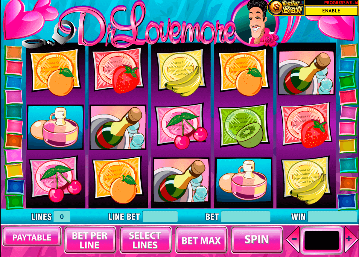 dr lovemore playtech casino slot spel