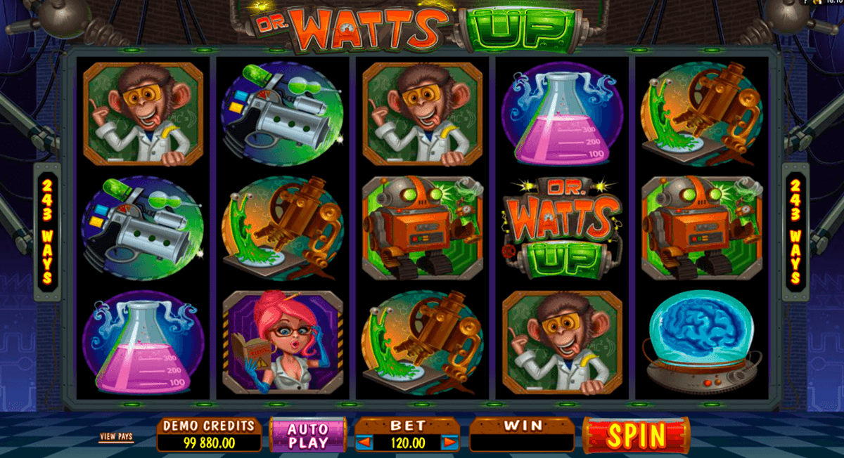 dr watts up microgaming casino slot spel