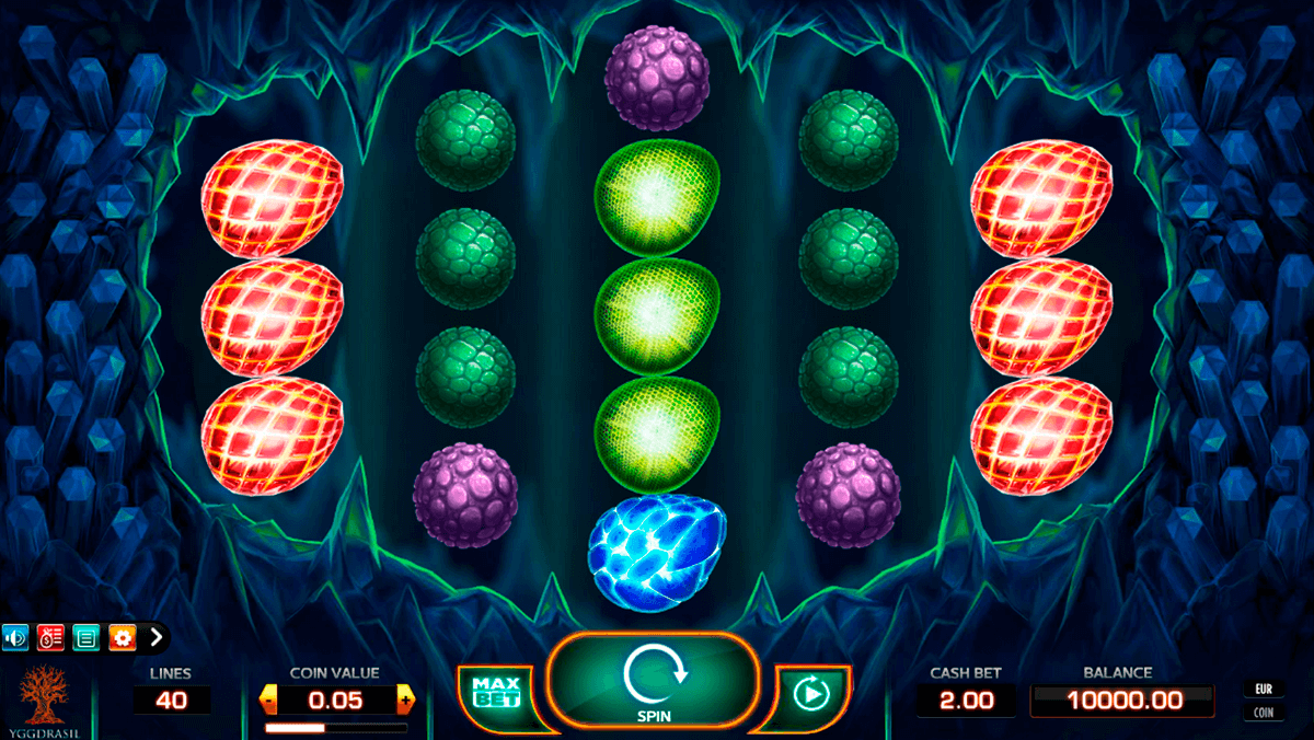 draglings yggdrasil casino slot spel
