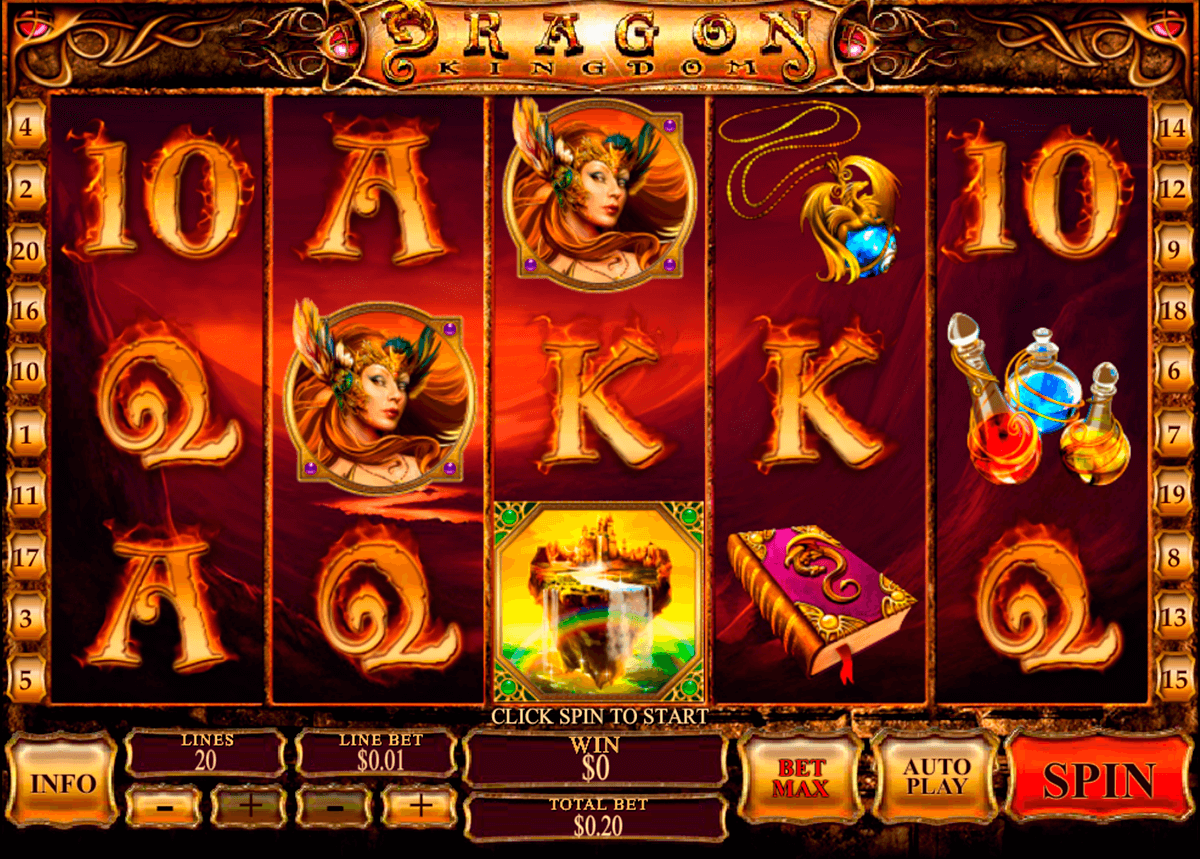 dragon kingdom playtech casino slot spel