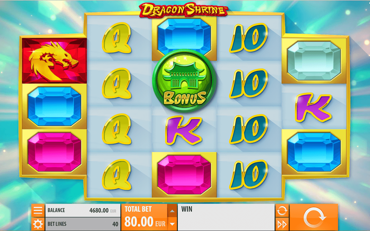 dragon shrine quickspin casino slot spel