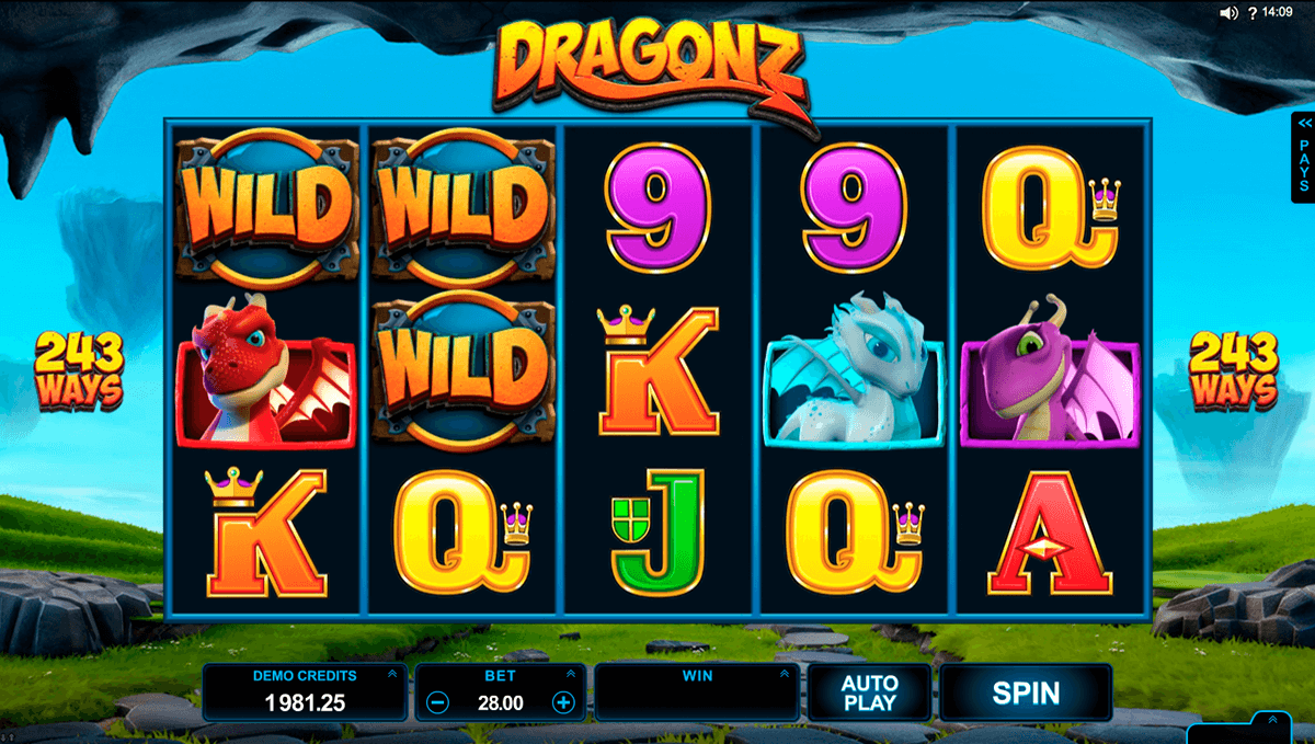 dragonz microgaming casino slot spel