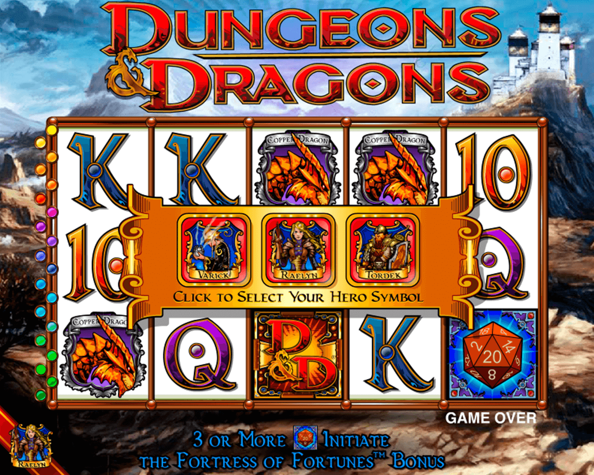 dungeons and dragons igt casino slot spel