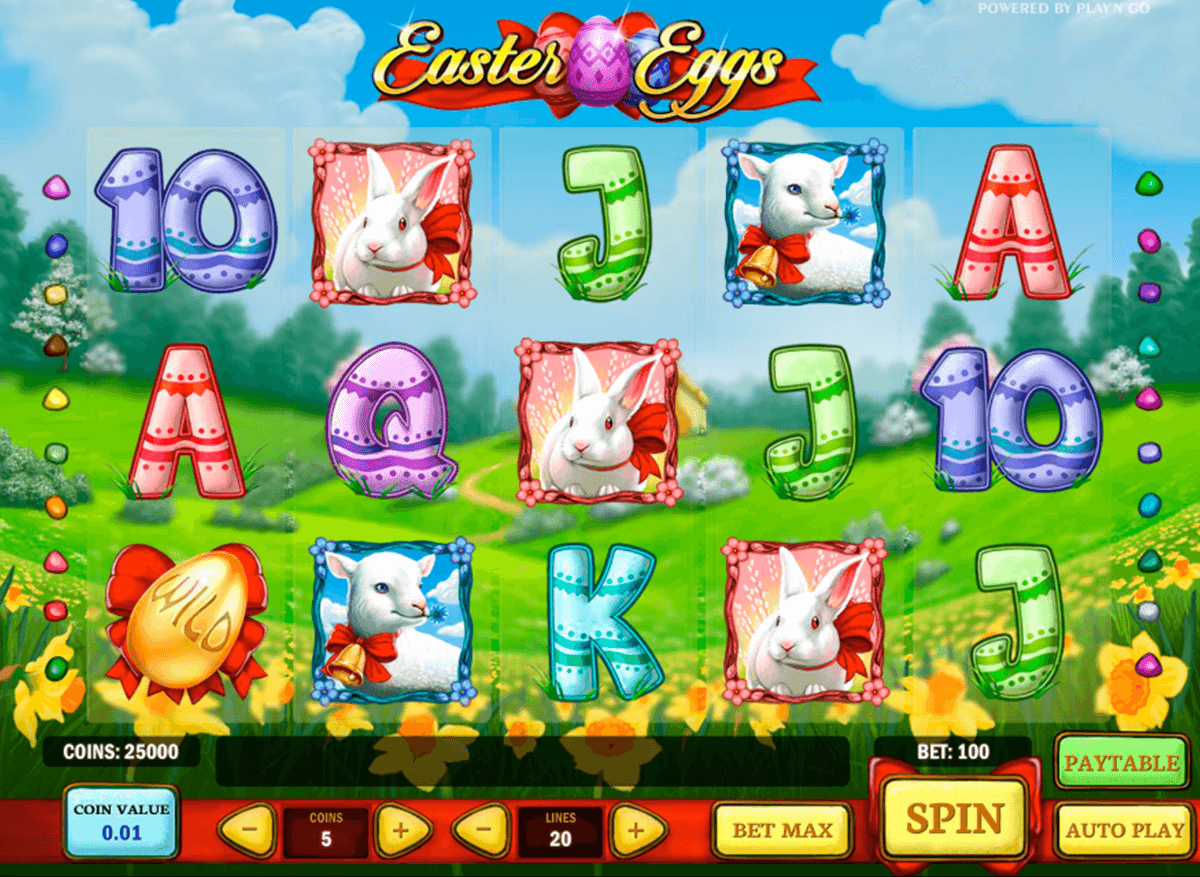 easter eggs playn go casino slot spel